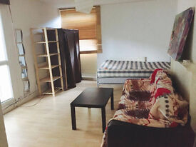 !!! Studio Flat in E2, Specious, Separate Kitchen, Double Glazing, Central Heating!!! DSS Allow !!!