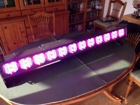 Large LED Batten with custom case for stage lighting/DJ/Musician/Band