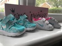 Baby Nike trainers size 1.5 UK