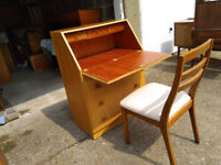 MEREDEW Vintage Chest of drawers / writing desk - free delivery available