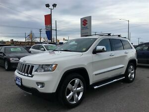 2012 Jeep Grand Cherokee Overland ~Panoramic Roof ~Nav ~Quadra-L