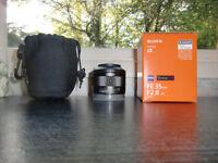Sony Zeiss 35mm Full Frame E-Mount Lens for sale