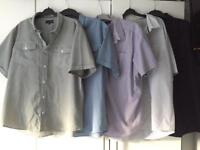 Men's Shirts x 5 Size XL *Lincoln @ Matalan & George~VGC*