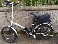 Mountain and folding bikes