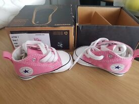 Baby converse all star pink