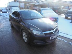 2007 57 vauxhall astra 1.9 cdti diesel twin top convertible, 12 months mot, 30 + cars in stock