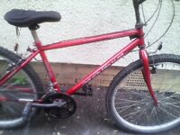 TOWNSEND,LADIES MOUNTAIN BIKE,15 INCH FRAME,26 INCH WHEELS,18 GEARS,GOOD TYRES,GOOD CONDITION.
