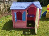 Little Tikes outdoor house & toys