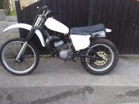 Yamaha yz 125cc 1970s