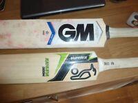 GUNN & MOORE & Kahuna Doom cricket bats