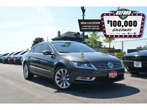2014 Volkswagen CC Highline - GPS, Sunroof, bluetooth, back up c
