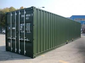 40' X 8' New Container, transport can be arranged