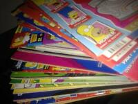 Big lot of simpsons comics