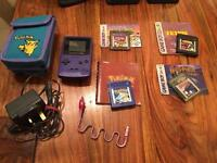 Retro Gameboy Colour (Fully Working) with Games & Accessories