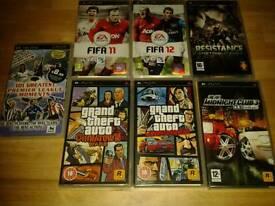 PSP GAMES BUNDLE