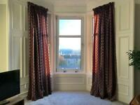 Curtains IKEA 4 panels each xxx width by 300 cm drop