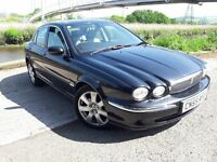 DIESEL TOP OF THE RANGE JAG..FULL GREY LEATHER..FULL SAT NAV SCREEN..ALL ROUND ELECTRIC PACK
