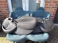 1998/2008 Ford Ka Seats Front And Rear Inc Door Cards