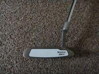 "White hot Odyssey golf club putter #6, 34"""