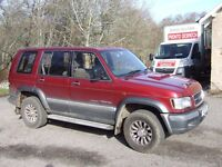 ISUZU TROOPER , CITATION, 3L DIESEL, DOHC TURBO