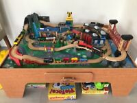 Imagination Train Table including trains