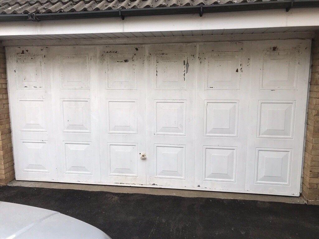 Double Garage Door 14ft X 7ft In Northampton Northamptonshire