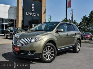 2013 Lincoln MKX VOICE ACTIVATED NAVIGATION*PANORAMIC VISTA ROOF