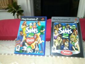 PS2 Sims Games
