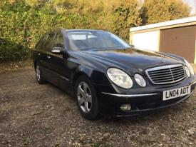 2004 MERCEDES E320 CDI AVANTGARDE ESTATE AUTO FULLY LOADED