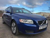 Volvo V50 D excellent condition service history £20 Road Tax