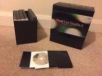 Final Cut Pro Studio 2 (complete) disc and manuals