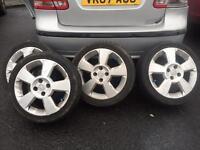 Vauxhall corsa Sri sxi alloys 16 inch very nice rims £150
