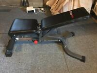 Bodymax CF328 Deluxe Flat, Incline, Decline Weight Bench