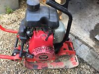 Wager plate compactor Honda engine