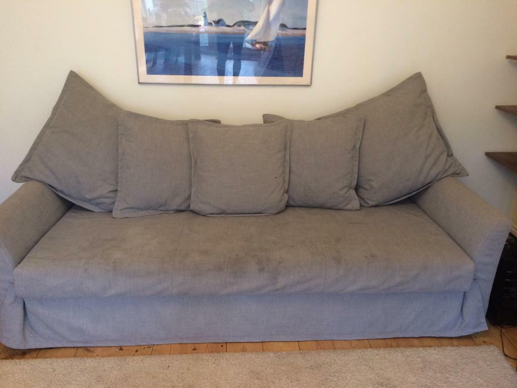 3 Seater Sofa Bed From Ikea Holmsund In Fishponds