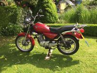 2009 Yamaha YBR Custom 125cc