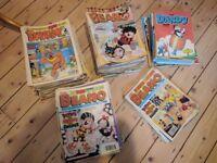 341 Various Beano, Dandy and Beezer Comics & Books Bundle (1982 - 1998)