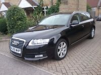 AUDI A6 ESTATE DIESEL AUTO ONLY 19K MILES SERVICE RECORD LEATHER SAT NAV EXCELLENT COND