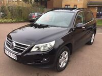 LHD LEFT HAND DRIVE VW VOLKSWAGEN TIGUAN AUTOMATIC 2.0 TDI 2008 TRACK & FIELD 4MOTION PANORAMIC ROOF