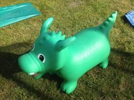 Bouncy hopper dragon happy hopperz