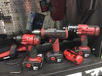 "Snap on 3/8"" impact gun 1/2"" impact gun and drill 18v"