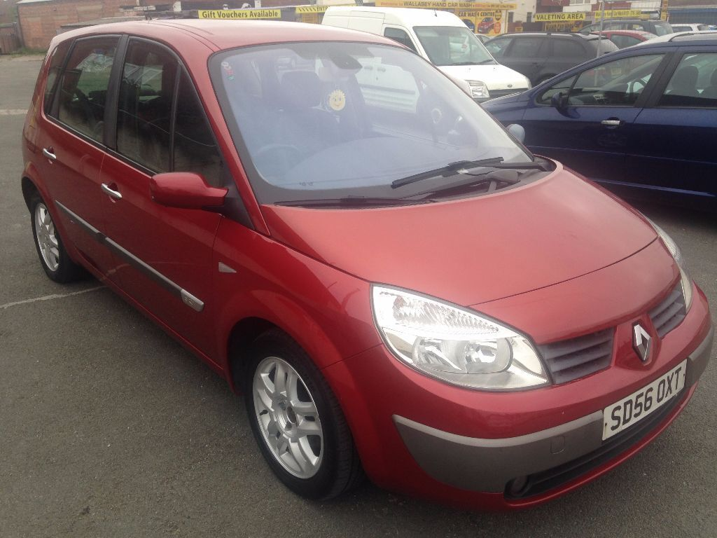 2006 56 renault megane scenic maxim 1 5 dci diesel great condition in wallasey merseyside. Black Bedroom Furniture Sets. Home Design Ideas