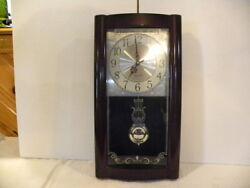 Quartz Pendulum Wall Clock