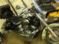 Yamaha V-Star 1100 Classic in beautiful condition.