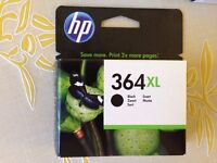 HP 364 black and colour ink cartridges