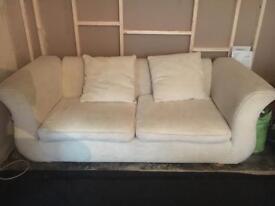 Cream/Ivory Sofa