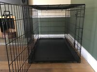 Large puppy crate