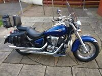 For sale is my Kawasaki VN 900 B8F CLASSIC.