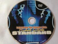 DVD - Learning the GUITAR with Michael Gillette STANDARD