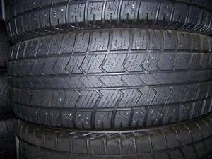 225-55R16 > HIVER , 2 pneus usagés .